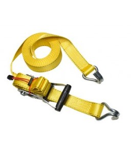 Ratchet Tie Down + J Hooks 8.25M