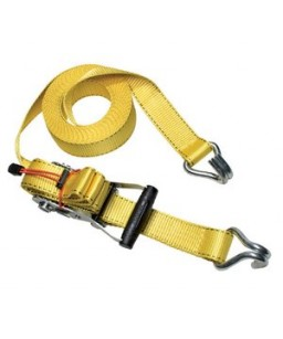 Ratchet Tie Down + J Hooks 4.5M