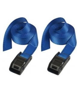 Lashing Straps with Metal Buckle 2.5M Pack 2
