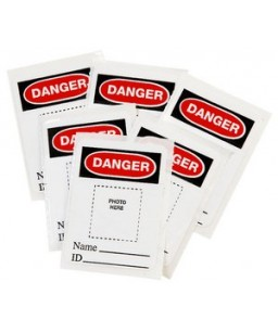Photo ID. Labels 6 pack