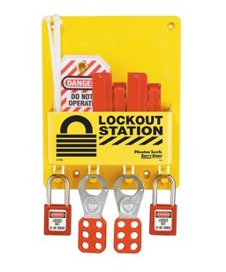 Labeling Lockout Station