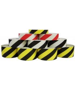 DuraStripe Supreme V Hazard  5cm x 30 meter roll