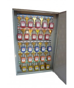 Heavy Duty Padlock & Key Cabinet ( unfilled)