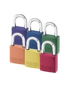 72 Series Aluminium Padlock  KEYED DIFFERENT