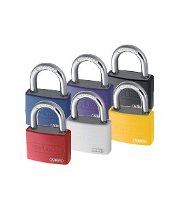 Abus My Lock Aluminium Padlock Keyed Different