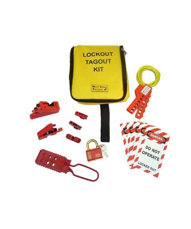 Work Safe Electrical Lockout Kit   01
