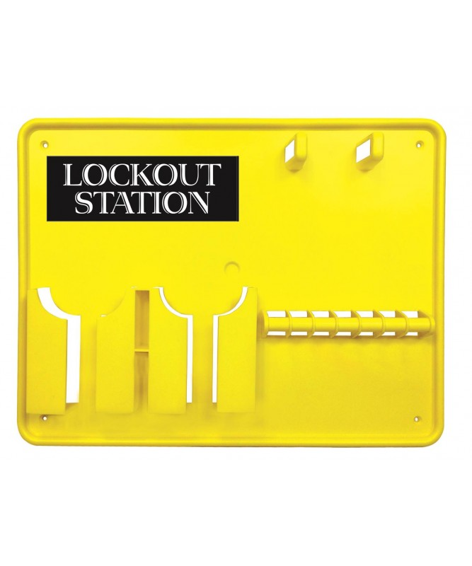 7 Lockout Station (unfilled)