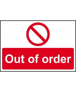 Out of order - RPVC (300 x...