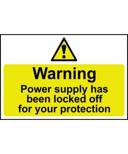 Warning Power supply has...