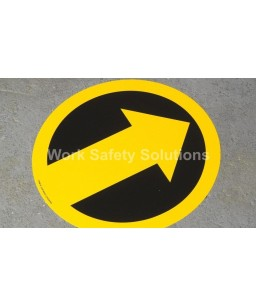 Arrow Floor Marking Signs