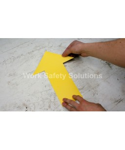Work Safe Floor Arrow Large