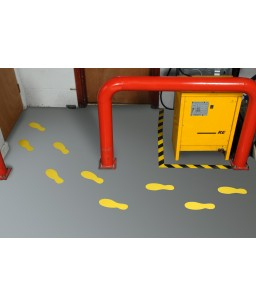 Work Safe Floor Feet Single