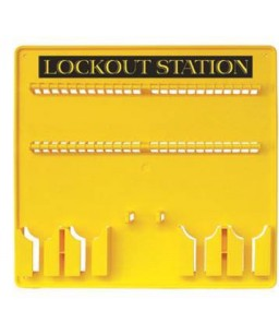 48 Padlock  Lockout Station...