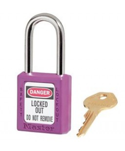 Keyed Different Safety Padlock & Master Key