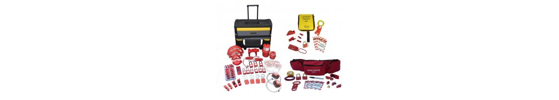Lock Out Kits available online from Work Safety Solutions
