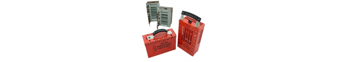 Group Lockout Box and Security Key Boxes