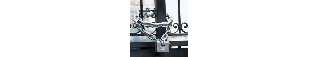 Chains and Hasps, Heavy Duty Hasp or Harden Steel Chain Products