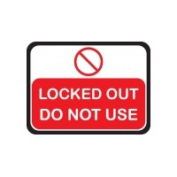 Lock Out Signs
