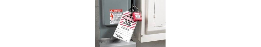 Lockout Tags – Signs to Warn and Inform of Potential Dangers