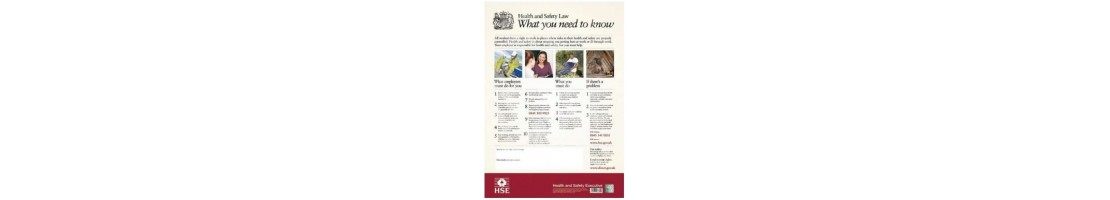 Health & Safety Posters – Clearly Display The Right Guidelines