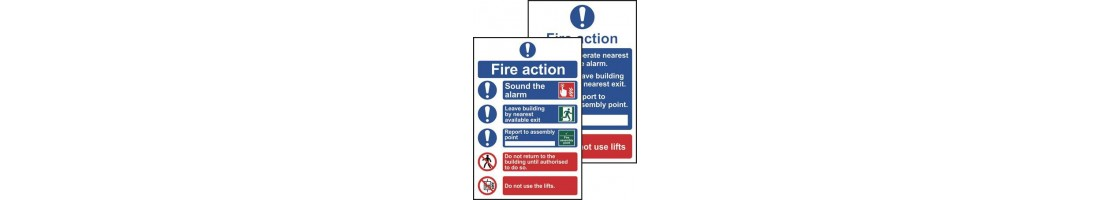 Fire Action & First Aid Procedure