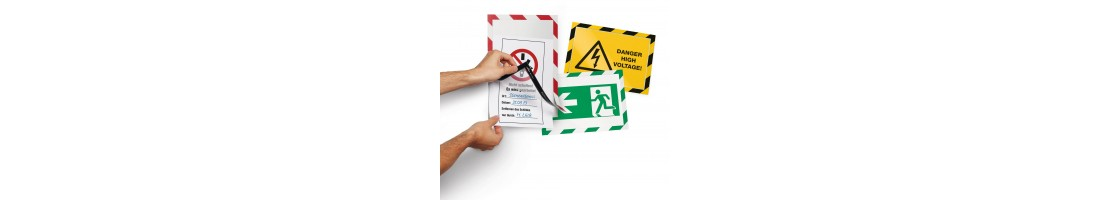 Safety Signs and Tape available now from Work Safety Solutions