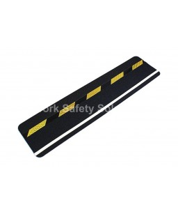 Safety Grip with black/yellow hazard & photoluminescent (glow in the dark) stripe