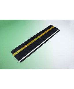 Safety Grip Tread with reflective & photoluminescent stripe