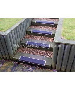 L-Shaped Bolt Down Aluminium  Plates- Anti Slip Stair Treads
