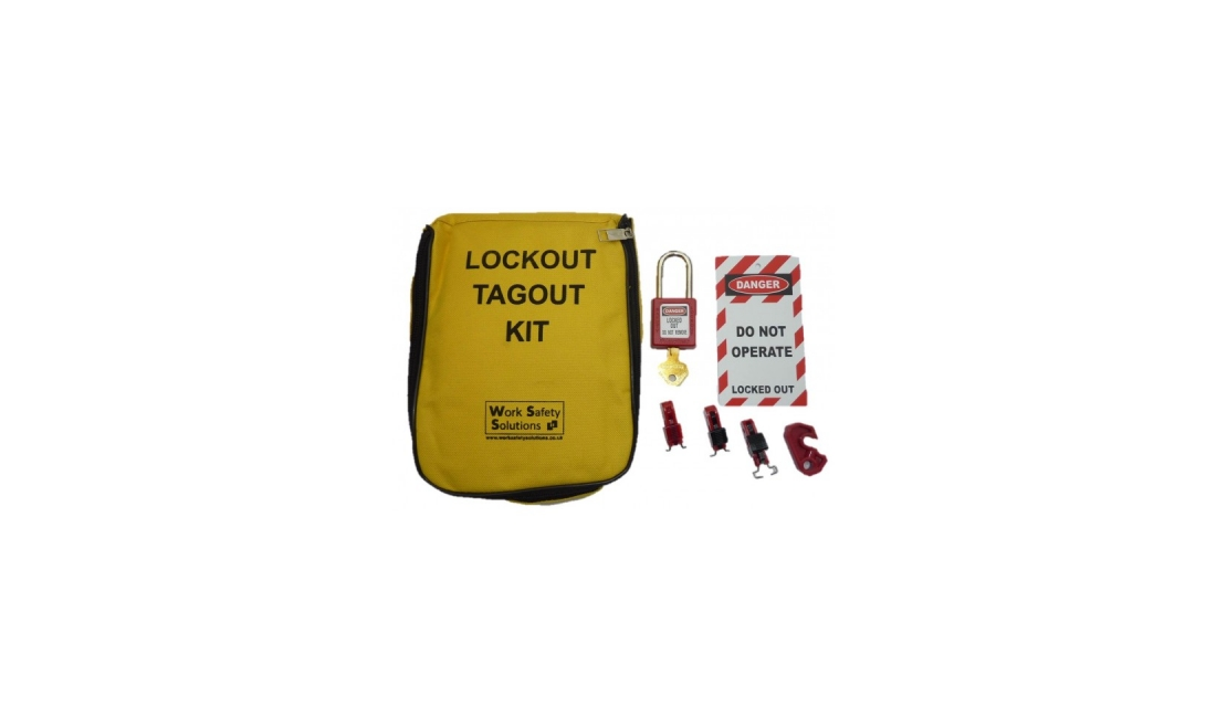 Work Safe Electrical Lockout Kit CODE WSKIT00