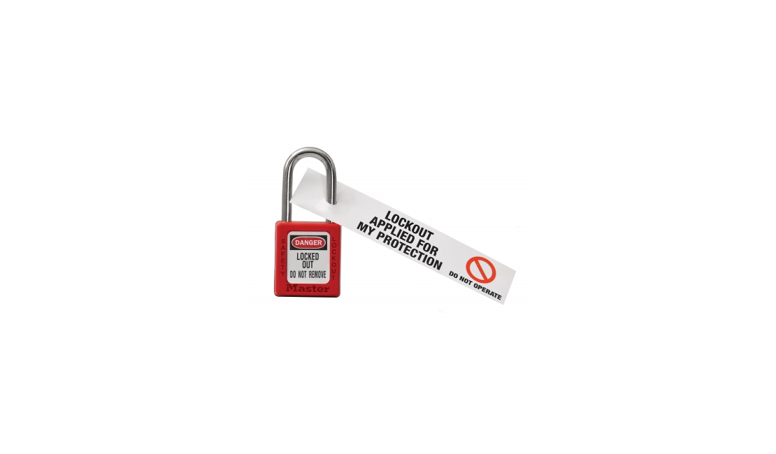 100 DISPOSABLE LOCK OUT TAGS